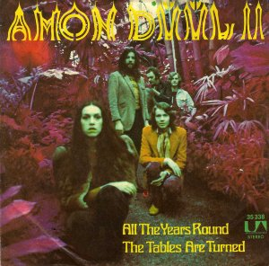 Amon Düül II_All the years round / The tables are turned (singl_krautrock